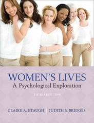 Women's Lives 3rd edition 9780205255634 0205255639