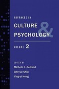 Advances in Culture and Psychology 0 9780199840694 0199840695