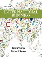 International Business 7th Edition 9780132667876 0132667878
