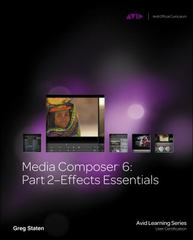 Media Composer 6 1st Edition 9781133788881 1133788882