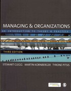 Managing and Organizations 3rd Edition 9780857020413 0857020412