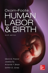 Oxorn Foote Human Labor and Birth, Sixth Edition 6th Edition 9780071740289 0071740287