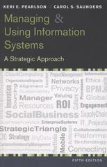 Managing and Using Information Systems 5th edition 9781118281734 111828173X