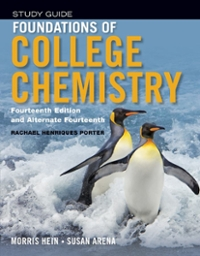 Foundations of College Chemistry, Student Study Guide 14th edition 9781118289006 1118289005