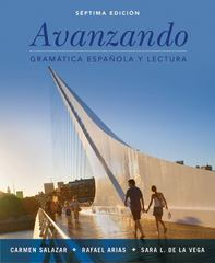 Avanzando 7th Edition 9781118280232 1118280237