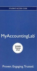 NEW MyAccountingLab with Pearson eText -- Access Card -- for Cost Accounting 14th edition 9780132914451 013291445X