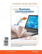 Excellence in Business Communication, Student Value Edition 10th edition 9780132719148 0132719142