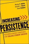 Increasing Persistence 1st Edition 9780470888438 0470888431