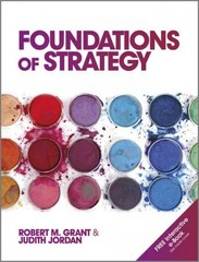 Foundations of Strategy 1st Edition 9780470971277 0470971274