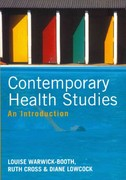 Contemporary Health Studies 1st Edition 9780745650227 0745650228