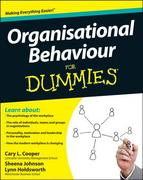 Organisational Behaviour For Dummies 2nd Edition 9781119977919 1119977916