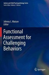 Functional Assessment for Challenging Behaviors 1st Edition 9781461430360 1461430364
