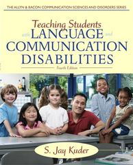 Teaching Students with Language and Communication Disabilities 4th Edition 9780132656665 0132656663