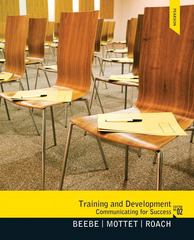 Training & Development 2nd Edition 9780205006120 0205006124