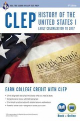 CLEP History of the United States I 6th Edition 9780738610375 0738610372