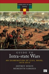 Guide to Intrastate Wars: A Handbook on Civil Wars 1st Edition 9780872897755 0872897753