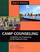 Camp Counseling 8th Edition 9781478617655 1478617659