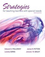 Strategies for Teaching Learners with Special Needs 10th Edition 9780132626156 0132626152