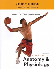 Study Guide for Essentials of Anatomy & Physiology 6th Edition 9780321792211 0321792211