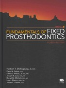 Fundamentals of Fixed Prosthodontics 4th edition 9780867154757 0867154756