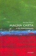 Magna Carta: A Very Short Introduction 1st Edition 9780199582877 0199582874