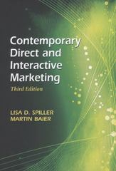 Contemporary Direct and Interactive Marketing 3rd Edition 9781933199375 1933199377