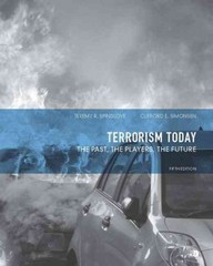Terrorism Today 5th Edition 9780132683111 0132683113