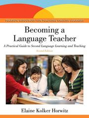 Becoming A Language Teacher 2nd Edition 9780133068894 0133068897