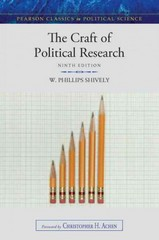The Craft of Political Research 9th edition 9780205854622 0205854621