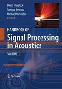 Handbook of Signal Processing in Acoustics 0 9780387776989 0387776982