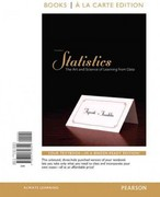 Statistics: The Art and Science of Learning From Data, Books a la Carte Edition 3rd edition 9780321756329 0321756320