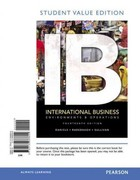 International Business, Student Value Edition 14th edition 9780132668699 0132668696