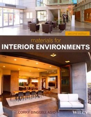 Materials for Interior Environments 2nd Edition 9781118306352 111830635X