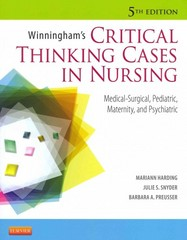 Winningham's Critical Thinking Cases in Nursing 5th edition 9780323083256 0323083250