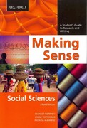 Making Sense in the Social Sciences 5th Edition 9780195445831 019544583X