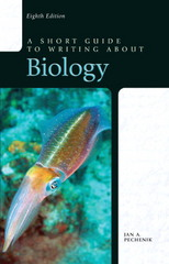 A Short Guide to Writing about Biology 8th Edition 9780205075072 020507507X