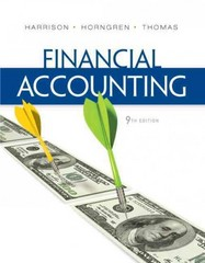 Financial Accounting 9th edition 9780132751124 0132751127