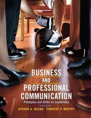 Business & Professional Communication 2nd Edition 9780205028993 0205028993