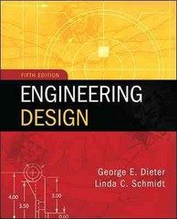 Engineering Design 5th Edition 9780073398143 0073398144
