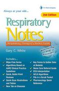 Respiratory Notes 2nd Edition 9780803629226 0803629222