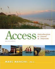 Access: Introduction to Travel and Tourism 2nd Edition 9781133687030 1133687032
