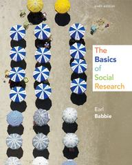 The Basics of Social Research 6th Edition 9781133594147 113359414X