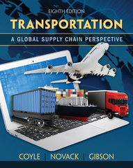 Transportation 8th Edition 9781305445352 130544535X