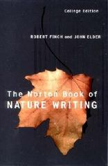 Norton Book of Nature Writing 2nd edition 9780393978162 0393978168