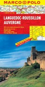Languedoc-Roussillon, Auvergne Marco Polo Map 0 9783829767651 382976765X