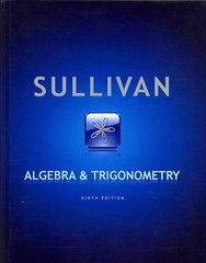 Algebra and Trigonometry with Algebra Review/MyMathLab/Student Solutions Manual 9th edition 9780321809360 032180936X