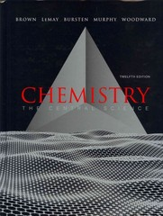 Chemistry 12th edition 9780321788825 0321788826