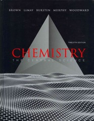 Chemistry: The Central Science with MasteringChemistry with Laboratory Experiments 12th edition 9780321778543 0321778545