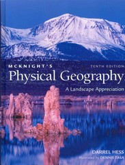 Goode's World Atlas with McKnight's Physical Geography 10th edition 9780321729859 0321729854