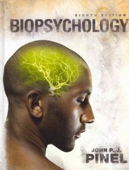 Biopsychology with NEW MyPsychLab and Pearson eText 8th edition 9780205216956 0205216951